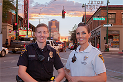 downtown female recruits